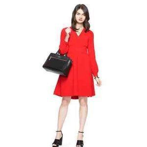 NWT Kate Spade Blaze a Trail Toe Waist Midi Dress